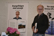 Jan-Erik presenterade sin bok Bryngelhögen